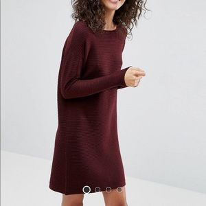 ASOS Dresses - ASOS sweater dress, purple, size 2